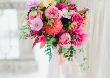 مسكات عروس من ورد جميل- صور ورد