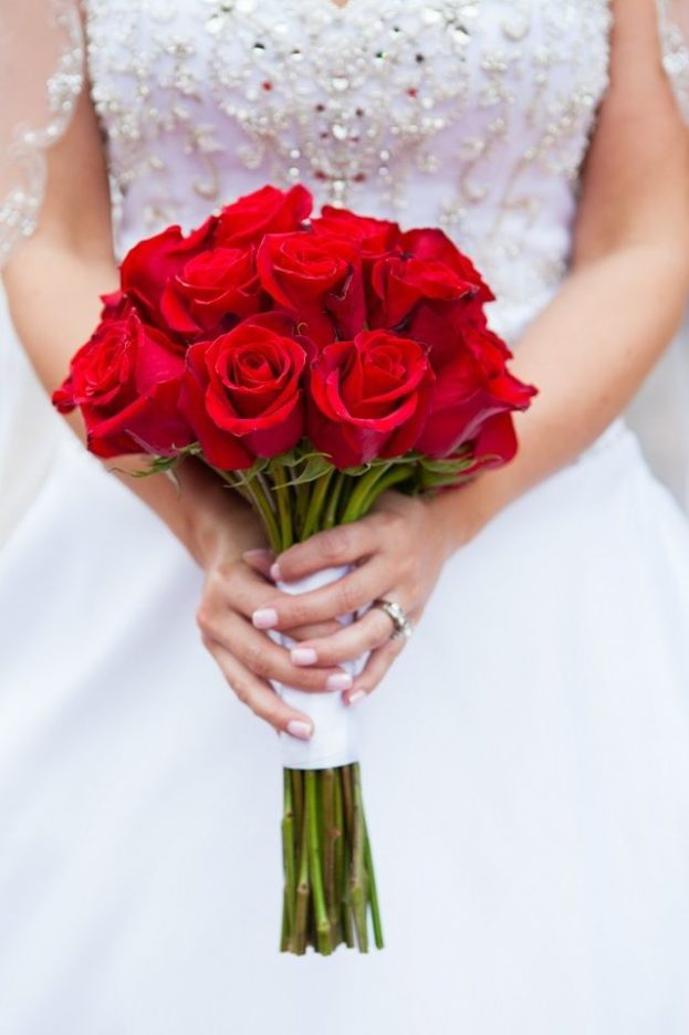 أجمل باقات ورد رومانسي أحمر- صور ورد