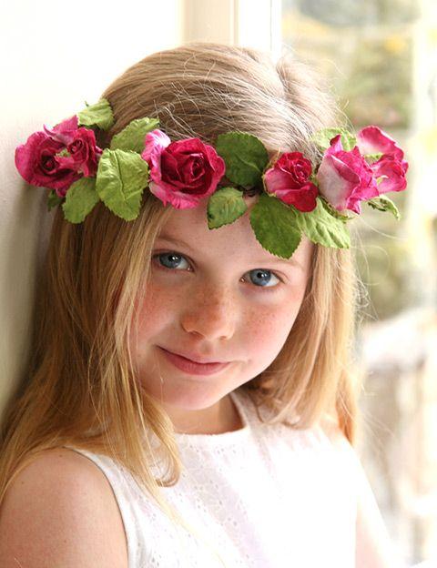 صور طوق ورد Flower crowns- صور ورد