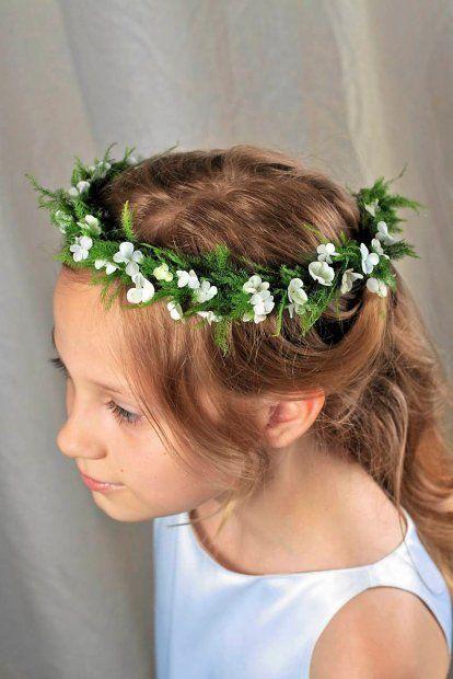 طوق ورد Flower crown-صور ورد