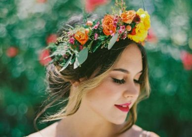 صور طوق الورد للعروس-صور ورد