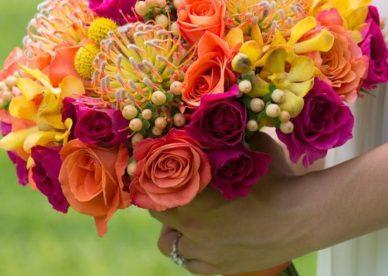 صور أشكال ورد طبيعي جديدة للعروس- صور ورد
