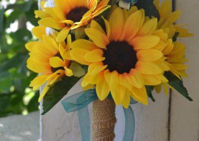 باقات زهور تباع الشمس Sunflower Wedding Bouquets - صور ورد وزهور Rose Flower images
