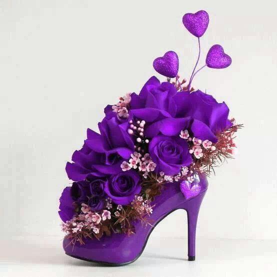 أجمل أزهار البنفسج للبنات-صور ورد وزهور