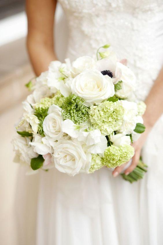 صور زهور وباقات ورد بيضاء جميلة - صور ورد