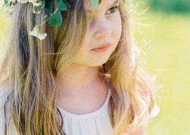 صور طوق ورد بنات في العيد-صور ورد
