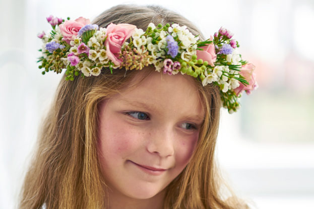 صور طوق الورد والزهور للبنات-صور ورد